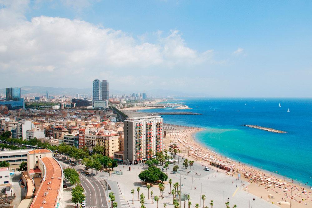 Illustration of Barcelona - number 1 of 3