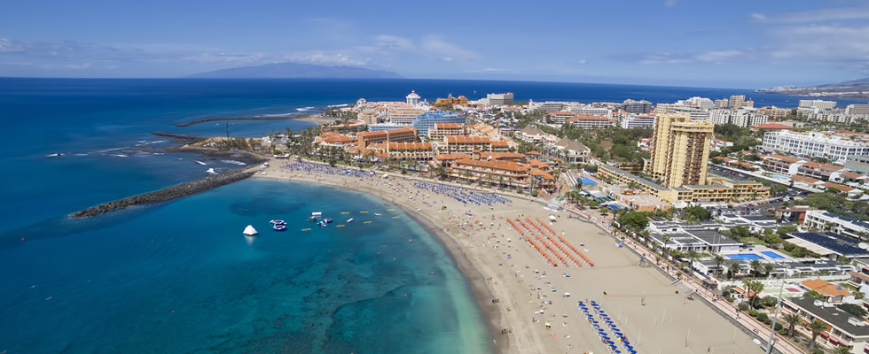 Illustration of Playa de las Americas - number 1 of 4